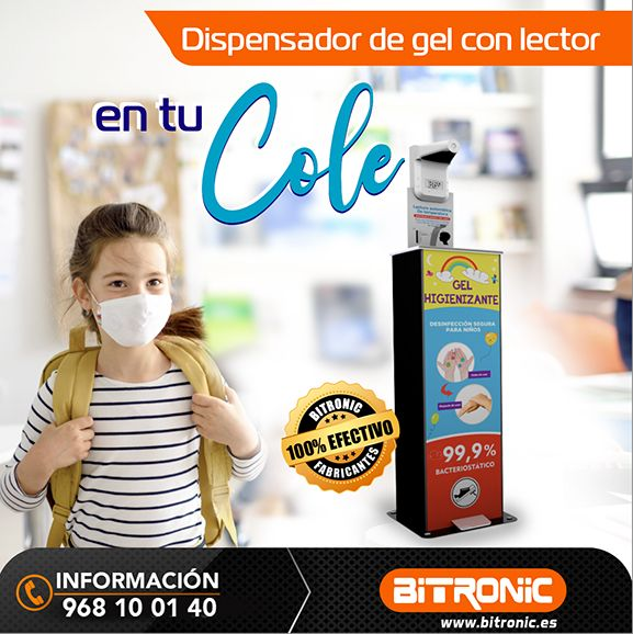 Dispensador de gel de acero inoxidable